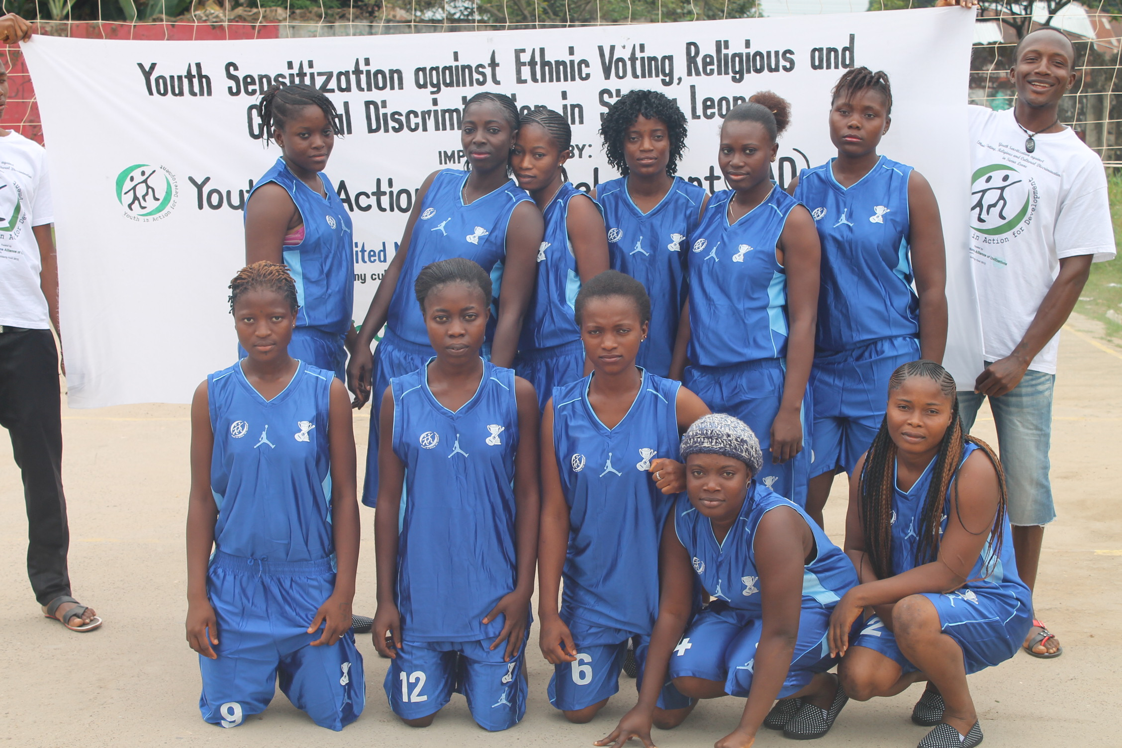 YAD Organizes Youth Cohesion Tournament in Sierra Leone