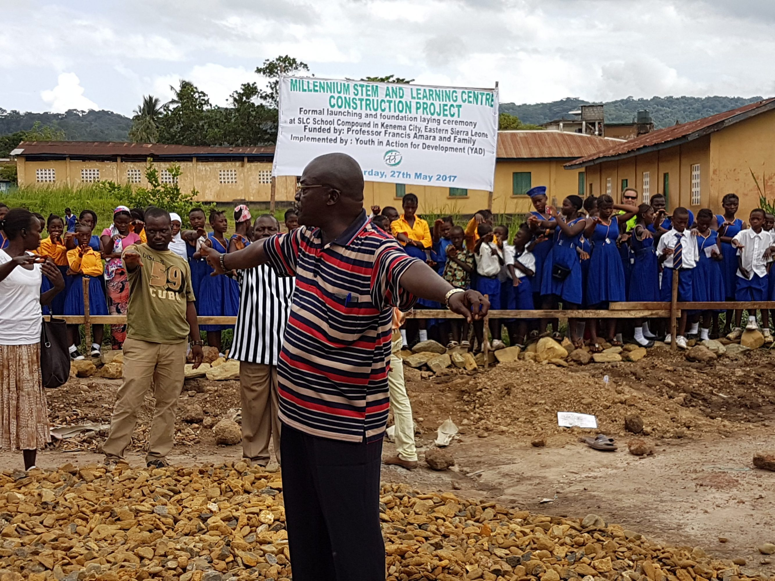 YAD Launches a Modern Science Lab Construction Project in Kenema
