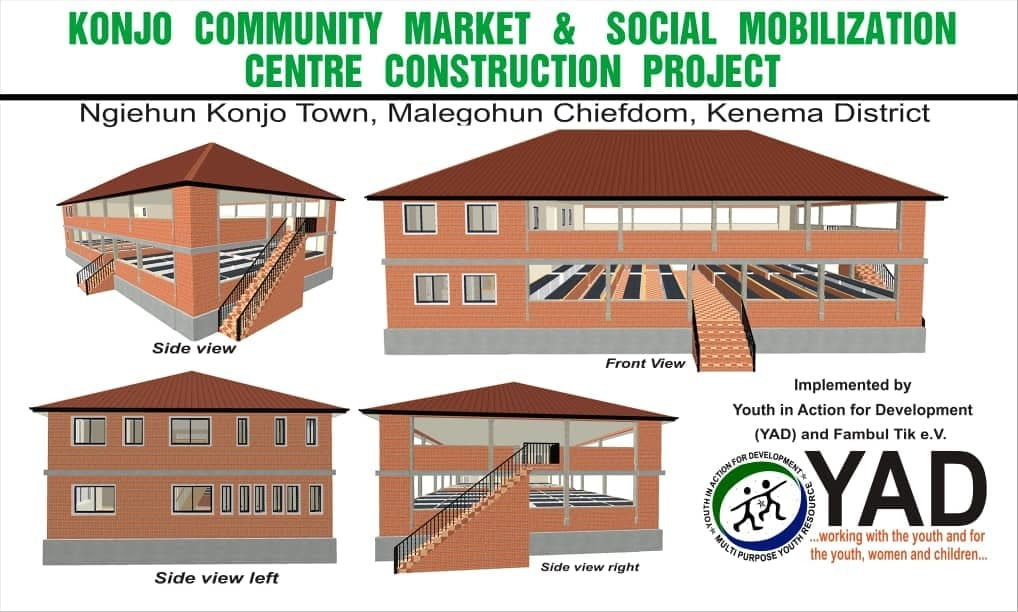 YAD Launches Community Market and Social Mobilization Centre Construction Project